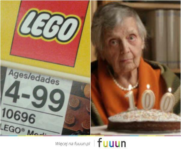 Babcia i Lego