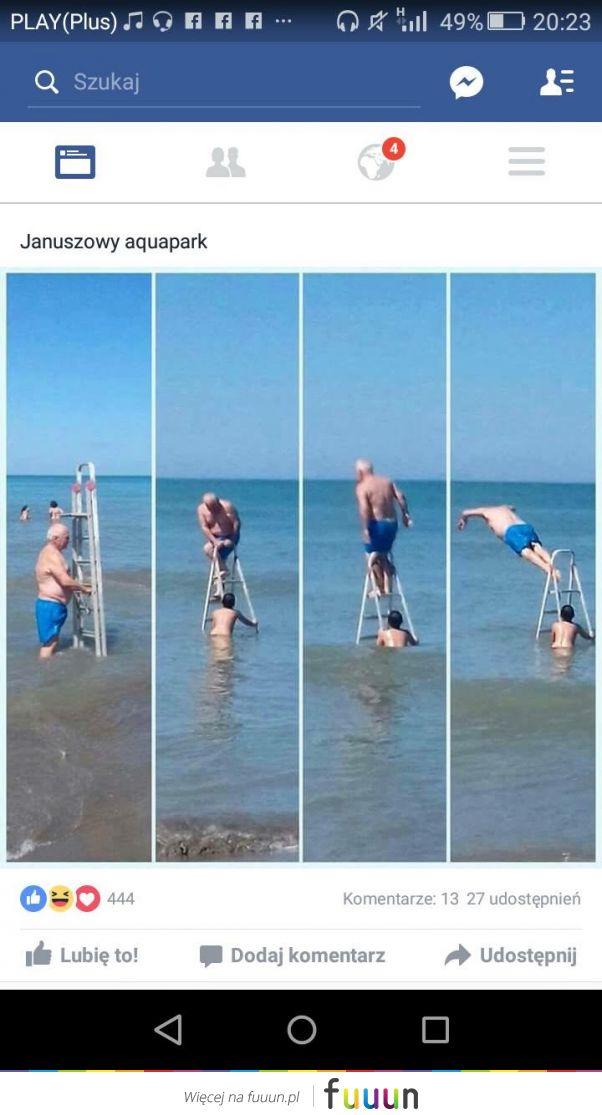 Januszowy aquapark!