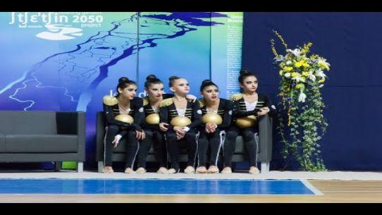 Juniorki z Azerbejdżanu w Gimnastyce Artystycznej